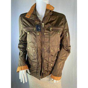 Fay Brown & Copper Windbreaker Jacket